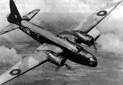 Vickers-Welllington-Bomber